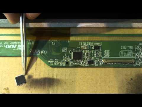 видео: Ремонт матрицы ноутбука.
