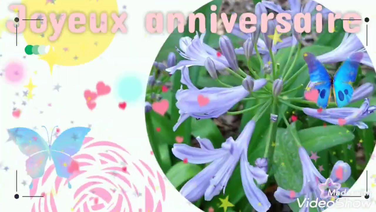 Jolie Carte Virtuelle D Anniversaire Gratuite Youtube