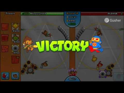 btd battles hacked copy cat montage