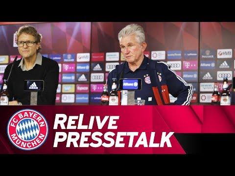 LIVE 🔴 | FC Bayern-Pressetalk mit Jupp Heynckes vor Schalke