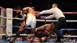Mark de Mori  Haye knocks out Australian opponent Mark de Mori in the first round at the O2 Arena