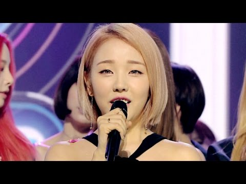 《Inkigayo WIN》 인기가요 1위 발표 Baek A Yeon(백아연) - SO SO(쏘쏘) 20160605