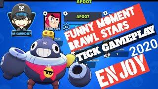 Funny moment brawl stars 2020 | TICK gameplay