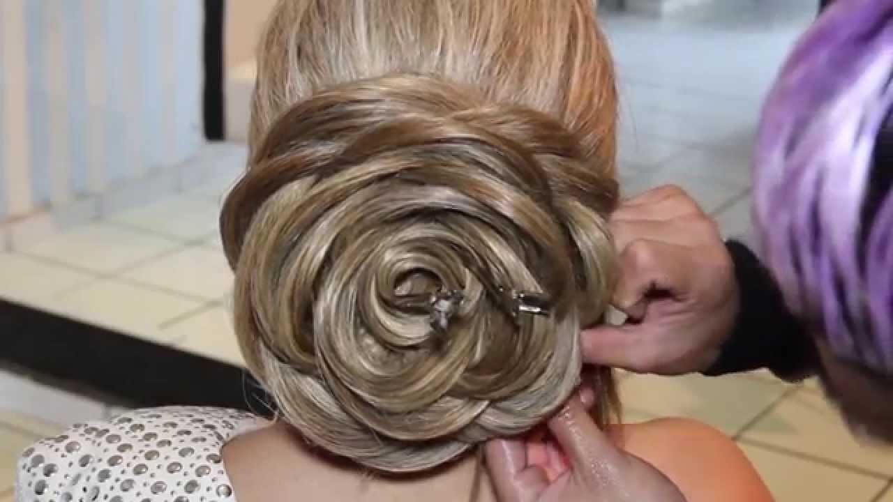 rose hairstyle tutorial