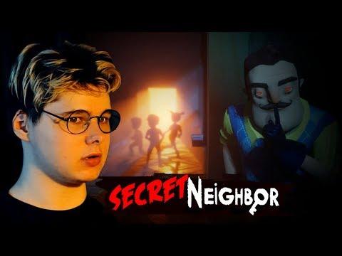 Hello SECRET Neighbor I Запись стрима Windy31 от 17/08/2019