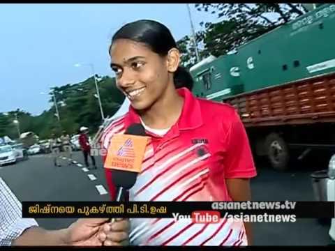 Interview with Jishna Mathew and PT Usha   Asian Athletics Championships 2017