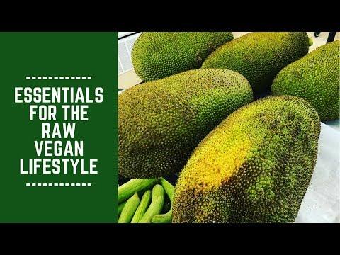Essentials for the Raw Vegan Lifestyle