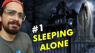 Sleeping Whole Night Alone in my Haunted House 😱😱