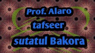 Download Video Dr Alaro tafsir Bakora MP3 3GP MP4