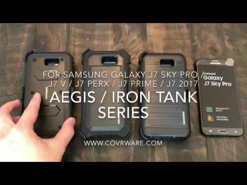 huge selection of 79924 fe3a2 Samsung Galaxy J7 Sky Pro / J7 Prime / J7 V, [AEGIS/IRON TANK/Ranger Pro]  COVRWARE Holster Case