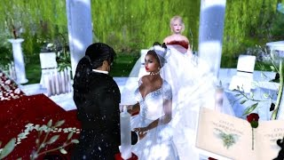 The Wedding of Mr & Mrs. Leon Morgan in Second Life