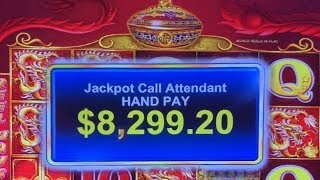 5 TREASURES BONUS HANDPAY JACKPOT ★ HIGH LIMIT 10c SLOT MACHINE PLAY ★ 88 FORTUNES