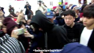 [Fancam]150411 INFINITE ICN-MFM part 1@ Macau International Aiport