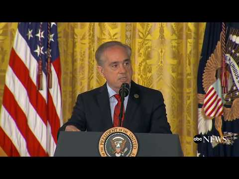 President Donald Trump signs  VA Accountability and Whistleblower Protection Act of 2017