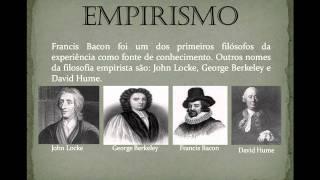 Racionalismo, Empirismo e Criticismo