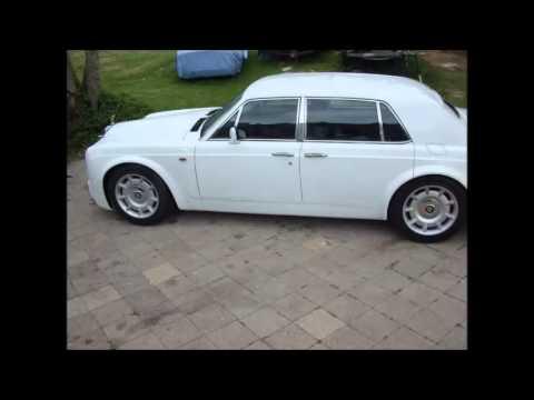 Rolls royce Phantom Replica - YouTube