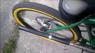 Phantom Bikes Long Barrel Exhaust (4 stroke) -Baffle Kit Test