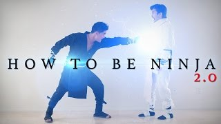 How to be Ninja 2.0(Ever since we made the first How to be Ninja video, I've been asked to remake this. After nearly a decade later, here it is! Watch More bloopers and BTS here: ..., 2016-04-24T15:30:55.000Z)