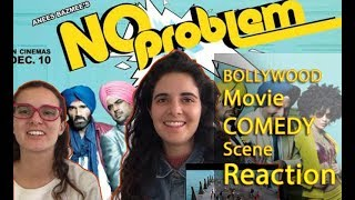 Bollywood Comedy Reaction By Foreign Girls | No Problem