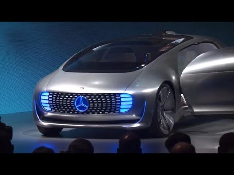 Mercedes Unveils Its Car Of The Future Youtube