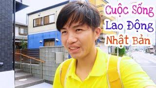 Cuộc Sống Sinh Hoạt Của Lao Động Ở Nhật Bản || San vlog