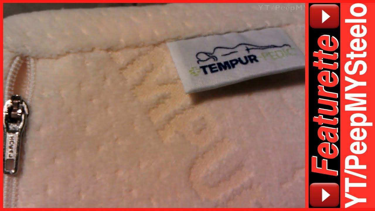 Best Memory Foam Pillow By Tempur Pedic In Contour Amp Wedge