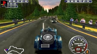 Mille Miglia - Gameplay PSX / PS1 / PS One / HD 720P (Epsxe)