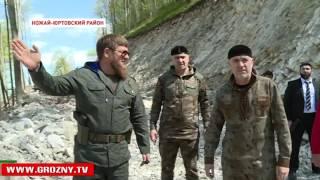Жители Ножай-Юртовского и Веденского районов получат новую магистраль, соединяющую два района