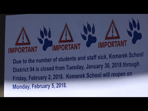 Illinois School Closes Amid Deadly Flu Season