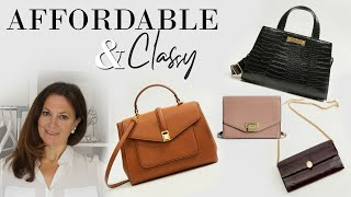 8 AFFORDABLE Classy bags that will make ANY outfit look expensive Fashion Over 40