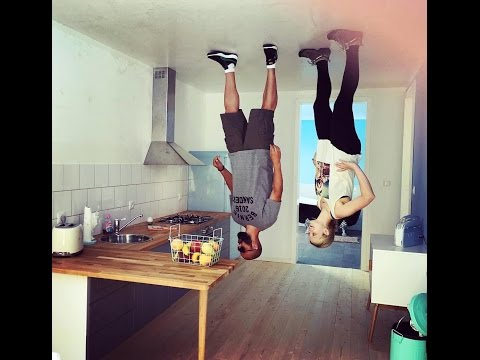 Inside Germany's Upside Down cafe and house - Toppels' House