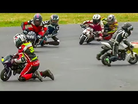 Moto GP for Kids from Age of 6: 2017 British Minibikes Championship: Rd 5, Minimoto Pro