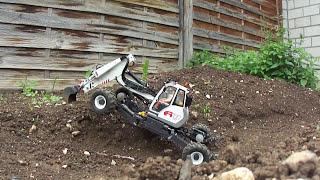 Menzi A91 1:15 digging + climbing