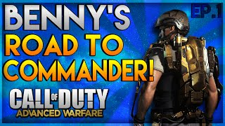 """Advanced Warfare Road To Commander - """"My First Game Of Multiplayer"""" - Episode #1"""