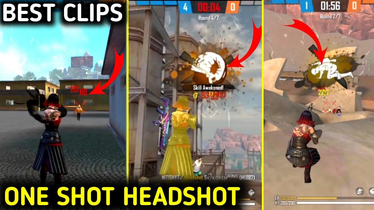 Free fire Headshot video   free fire one tap Headshot ...