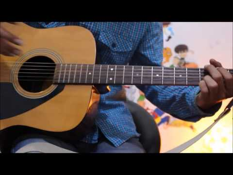 Heart Beat Strumming Style Guitar Lesson For Beginners Hindi - Guitar lesson percussion techinque