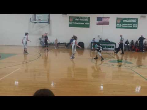 St Teresa vs St Patrick 7th grade girls basketball