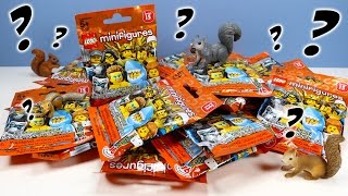 LEGO Minifigures Series 15 Mystery Collection Opening Build Review