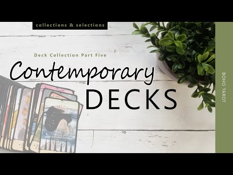Deck Collection Part Five – My Contemporary Decks