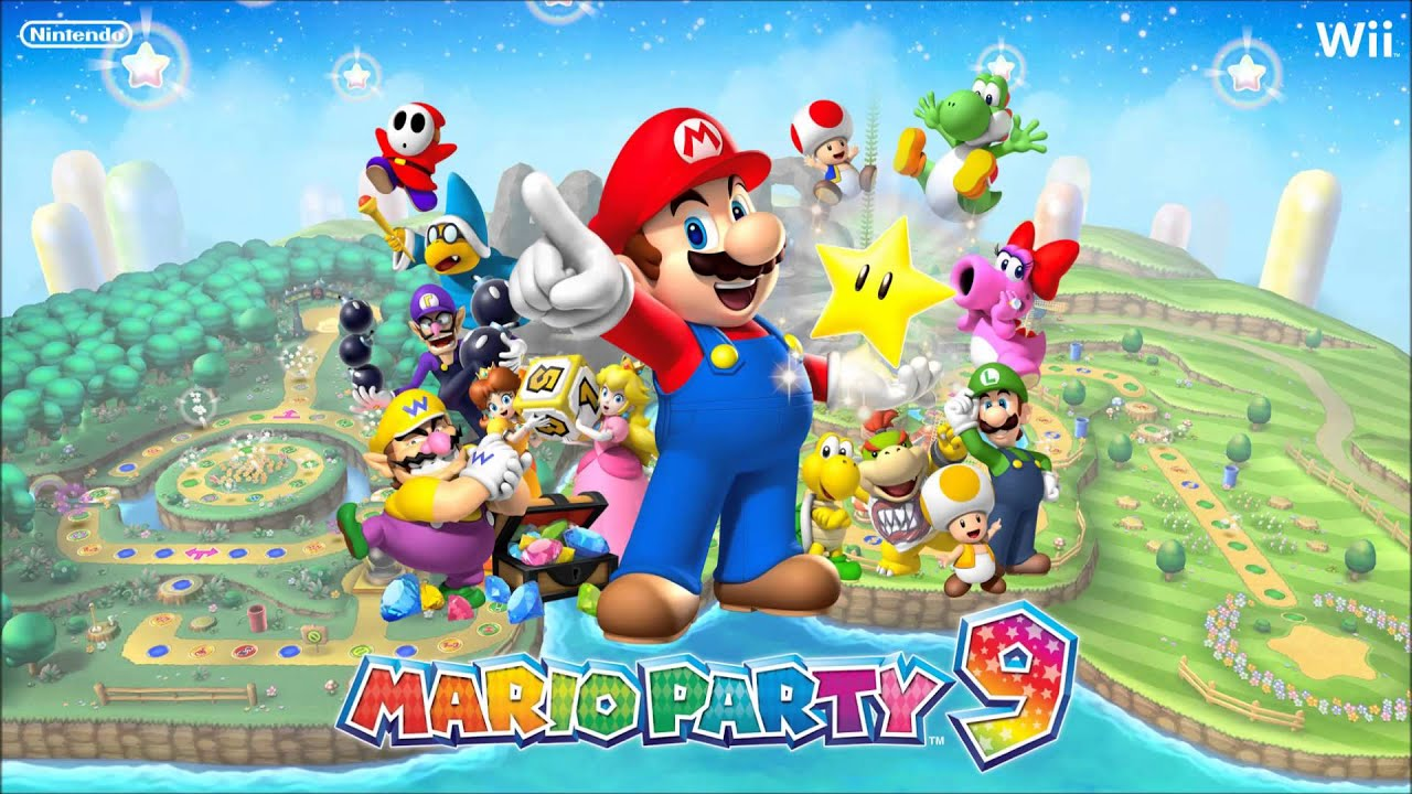 Mario Party 9 Bowser Jr S Mad Music
