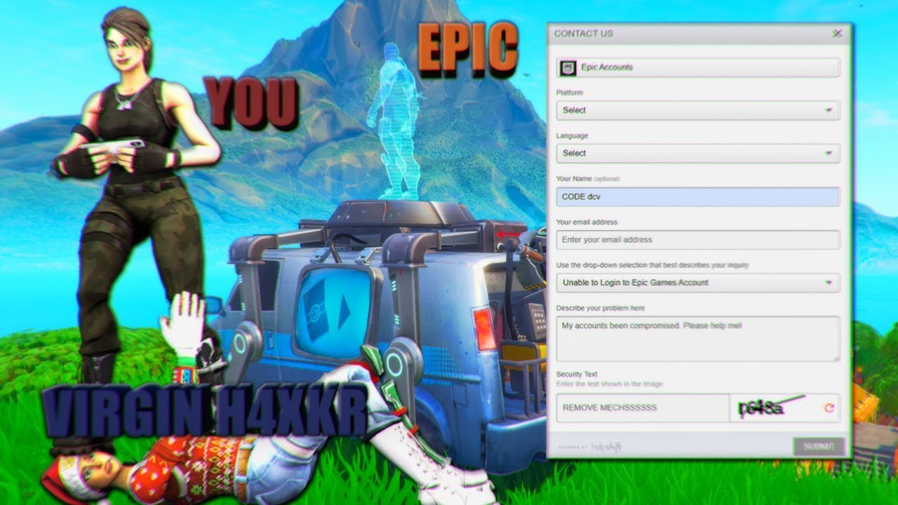 How to recover a hacked fortnite account - *WORKING 2020 ...