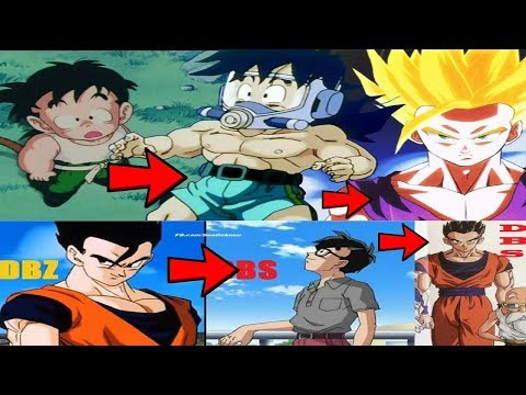 How Gohan's Body Changed Over Decades Explained!!