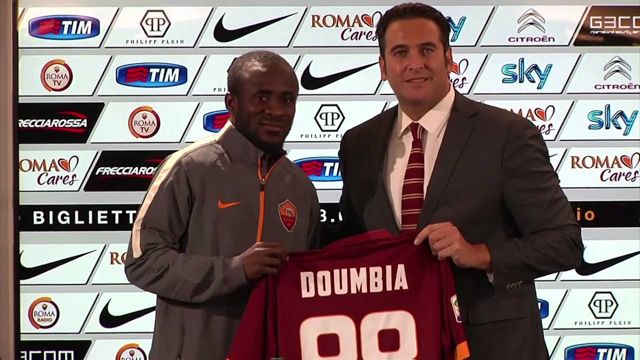 Seydou Doumbia officially unveiled as a Roma player