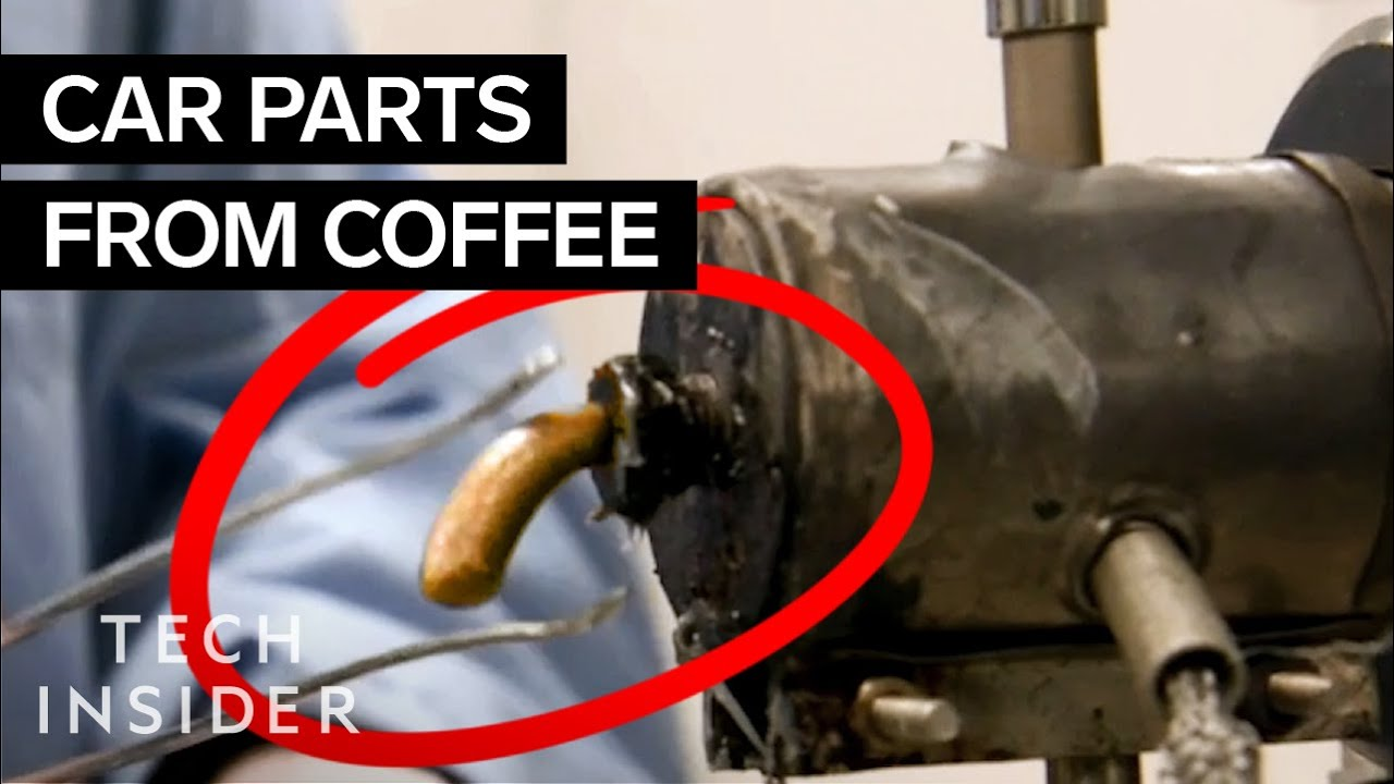 How Ford makes Car Parts from used McDonald's Coffee Beans