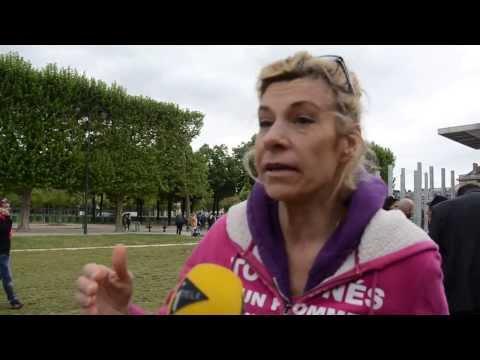 Interview Itélé de Frigide Barjot à propos du Conseil Constitutionnel (14/05/2013)