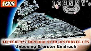 Lepin 05027 Imperial Star Destroyer - Unboxing und erster Eindruck