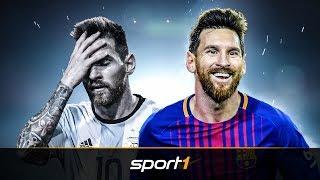 Lionel Messi: Der Mann mit den zwei Gesichtern | SPORT1