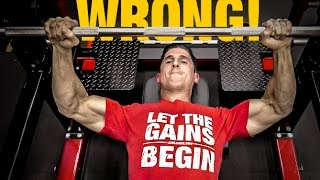 The Official Bench Press Check List (AVOID MISTAKES!)