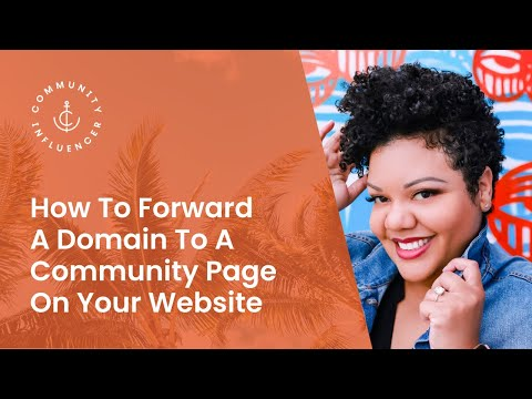 How To Forward A Domain To A Community Page On Your Website | Real Estate Agent Marketing