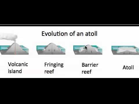 Evolution of an Atoll
